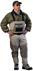 Caddis Men's 2-Tone Tauped Deluxe Breathable Stocking Foot Wader