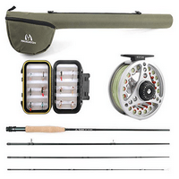 MAXIMUMCATCH Maxcatch Extreme Fly Fishing Combo Kit