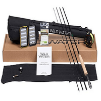 Wild Water 5 6 9' Rod Fly Fishing Complete Starter Package