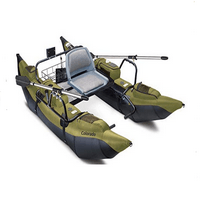 Classic Accessories Colorado Inflatable Pontoon Boat With Motor Mount