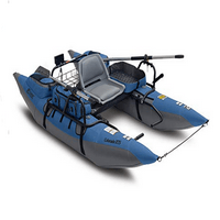 Classic Accessories Colorado XTS Fishing Inflatable Pontoon Boat with Swivel Seat