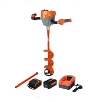Trophy Strike 40V Li-Ion Cordless Ice Auger Drill Kit