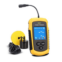 Lucky Portable Fishing Sonar Handheld Wired Fish Finder