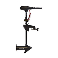 Newport Vessels NV-Series 36lb. Thrust Saltwater Transom Mounted Electric Trolling Motor with 30 Shaft