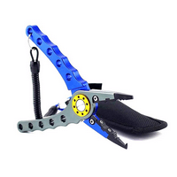 Zitrades Fishing Pliers Aluminum Saltwater Sheath Braid Cutter