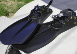 Float Tube Fins