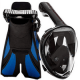 Cozia Design Snorkel Set with Snorkel MASK Swim FINS