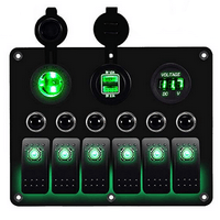 DCFlat Waterproof Marine Switch Panel