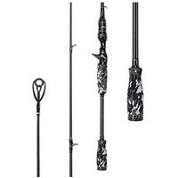 Entsport Camo Legend 1-Piece Casting Rod