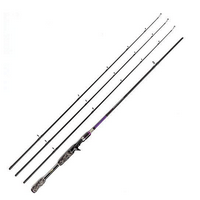 JOHNCOO 7' Carbon Baitcasting Fishing Rod
