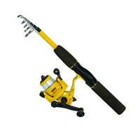 Eagle Claw PK56TS Pack-It Spin Combo Telescopic Rod