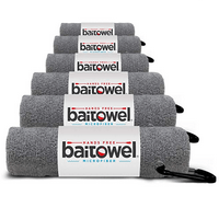 Bait Towel Pack of 6 Microfiber