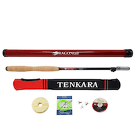 DRAGONtail Shadowfire 365 12' Tenkara Fly Fishing Rod
