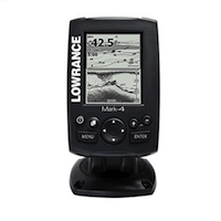 LOWRANCE MARK 4 FISH FINDER AND CHARTPLOTTER