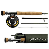 Orvis Clearwater 4-weight, 9' Fly Rod Outfit