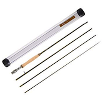 Piscifun Sword Graphite Fly Fishing Rod 4 Piece 9ft - IM7 Carbon Fiber Blank - Accurate Placement - Ingenious Design