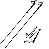 Sterling Endurance Trekking Poles:Collapsible to 13 1:2 : Hiking Poles Walking Sticks
