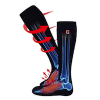 AUTOCASTLE ELECTRIC HEATED SOCKS