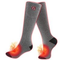 GREENSHA ELECTRIC RECHARGEABLE HEATED SOCKS
