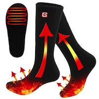 RABBITROOM ELECTRIC HEATED SOCKS
