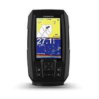 GARMIN STRIKER PLUS WITH DUAL-BEAM TRANSDUCER FLASHER